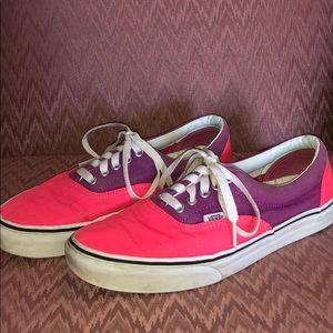 Vans Shoes   Pink And Purple Vans